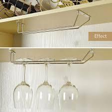 stainless steel wine rack wine holder 1 2 3 row glass holder