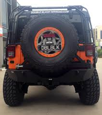 jeep body armor bumper smittybilt xrc armor rear bumper with hitch and tire carrier jk
