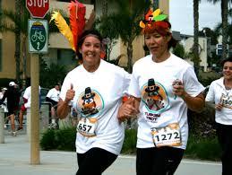 2012 turkey trot races in la oc cbs los angeles