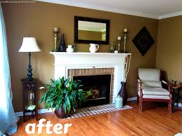 apartments captivating accent walls living room blue color and