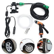 automotive electric water pump 12v 36w electric high pressure self priming auto wash water pump