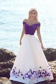 Purple Wedding Dress Popular Beach Wedding Gowns In Purple Buy Cheap Beach Wedding