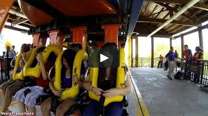 Six Flags Height Goliath On Ride Six Flags Fiesta Texas On Vimeo