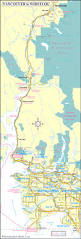 Canada Highway Map by Map Of Vancouver To Whistler Route U2013 British Columbia Travel And