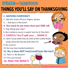 things to eat on thanksgiving thanksgiving archives science of parenthood