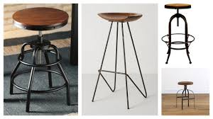 furniture excellent brown leather walmart stools with dark iron interesting walmart stools with wrought iron and wire legs for antique kitchen furniture design