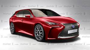 lexus new sports car new lexus ct 200h virtually imagined ahead of 2017 debut