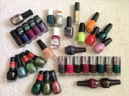 nail polish haul sinful colors ulta china glaze finger paints