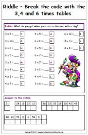 math riddle worksheet free worksheets library download and print
