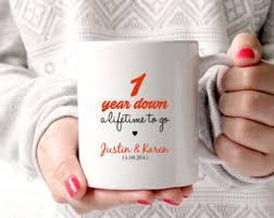 1st wedding anniversary ideas 1st anniversary gift etsy