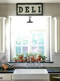 Shelf Above Kitchen Sink by Above Kitchen Sink Window Treatments Kitchen Sink Window Ideas