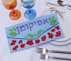 afikomen bag no sew afikomen bag envelope passover crafts for kids popsugar
