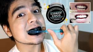 carbon coco teeth whitening review giveaway red diaz youtube
