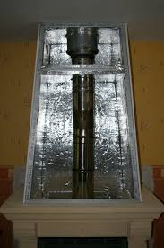 chambre de compression caisson de decompression cheminee pour insert 9 pose maison ossature