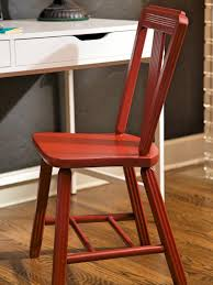 How To Build A Wood Table Top Podium by How To Strip And Repaint A Wood Chair How Tos Diy