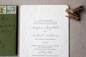 wedding invitations chicago megan mike s modern organic chicago wedding invitations