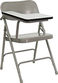 Left Handed Desk Amazon Com Flash Furniture Premium Steel Folding Chair With Left