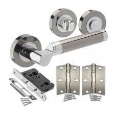 Door Handles UK Buy Stainless Steel And Cheap Chrome Door - Bathroom door knob with lock