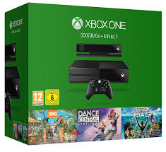xbox one consoles and bundles xbox xbox one 500gb console with kinect 3 game value bundle kinect