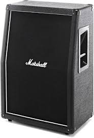 marshall 2x12 vertical slant guitar cabinet marshall mx212a 2x12 160w slant extension cab long mcquade