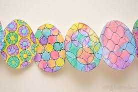 Decorate Easter Egg Printable by Make An Easy Easter Decoration Picklebums