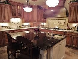 cherry wood kitchen island cherrywood cabinets granite white island cherry wood