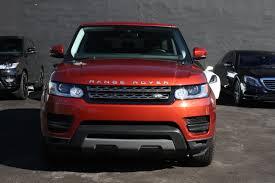 land rover orange range rover orange miami exotic car rental luxury cars for rent