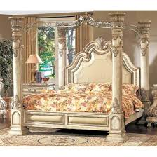 Royal Bedroom Set by 5pc Royal French Bombay Bedroom Set Antique Cream