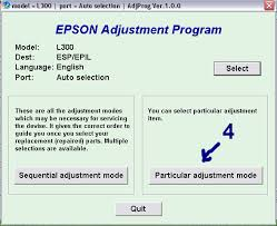 resetter canon l300 how to reset epson l300 printer tools