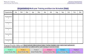 8 free sample exercise schedule templates u2013 printable samples
