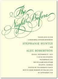 Rehearsal Dinner Invites Rehearsal Dinner Invitations When To Send Stephenanuno Com