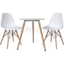 Eames Bistro Table Sets Eames Dsw Bistro Set