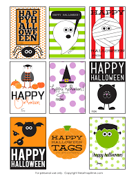 Cute Halloween Gift Ideas by Free Printable Halloween Gift Tags U2013 Festival Collections