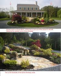 Idea For Backyard Landscaping by Image Detail For Circular Driveway Landscaping Landscape Design