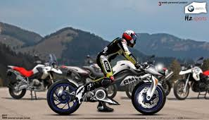 bmw sport motorcycle bmw h2 sport motorcycle concept way2speed