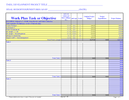 Project Tracking Template project budget template cyberuse