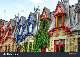 Victorian Houses by Part Victorian Houses Seen West Side Stock Photo 122611315