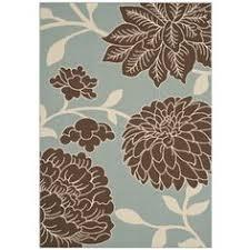 Outdoor Area Rugs For Decks Garden Treasures Rectangular Green Floral Indoor Outdoor Area Rug