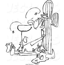image gallery of desert clipart black and white