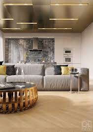 home design gold two apartments with texture one one sleek