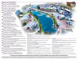 Florida Map Orlando by Universal Orlando Citywalk Map 2016 Honeymoon Pinterest Maps