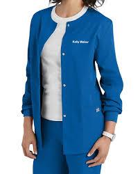 workwear snap front warm up scrub jacket scrubs beyond