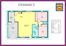 plan maison en l plain pied 3 chambres plan de maison plain pied gratuit 3 chambres plan maison 80m2 3