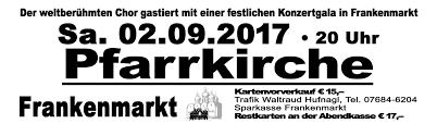 Bad Bergzabern Plz A 4890 Frankenmarkt Don Kosaken Chor Wanja Hlibka