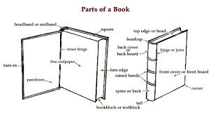 book headband book anatomy parts of a book definitions ibookbinding free