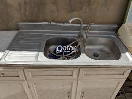kitchen cabinet sink used kitchen cabinets and sink used qatar living