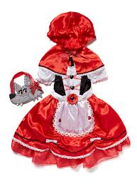 fancy dress girls red little red riding hood costume 2 10 years