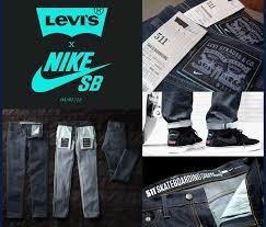 Nike Levis levi s皰 x nike sb 511 skateboarding collection wgsn insider