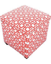 Coral Storage Ottoman Square Storage Pink Ottomans Bhg Shop