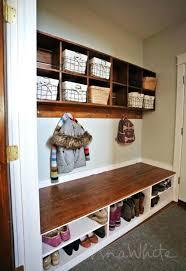 storage bench for foyer storage bench mudroom bench with storage
